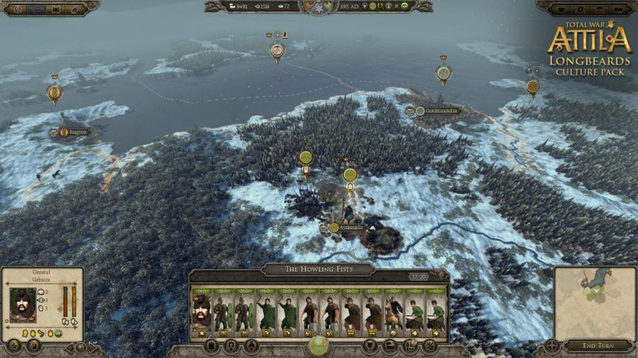 Total War Attila - Longbeards Culture Pack (DLC) Screenshot 6