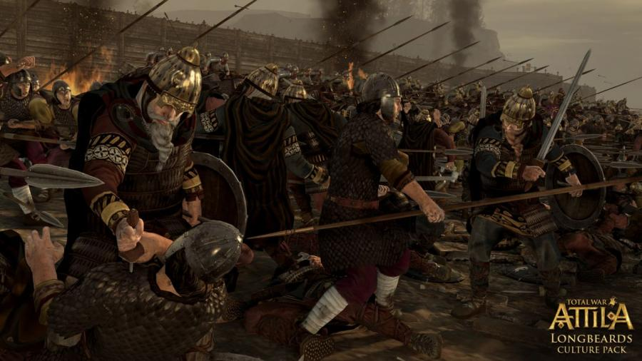 Total War Attila - Longbeards Culture Pack (DLC) Screenshot 1