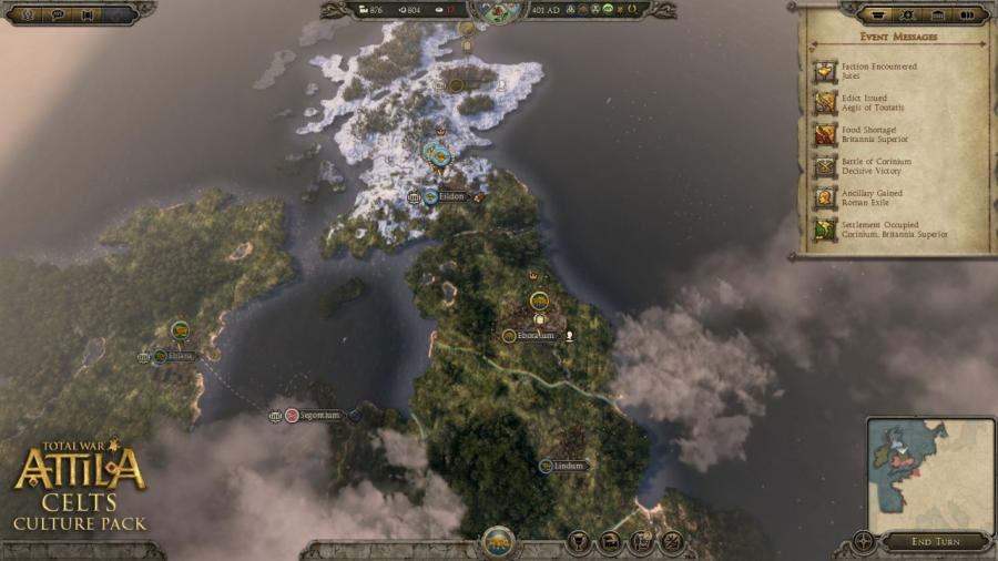 Total War Attila - Celts Culture Pack (DLC) Screenshot 3