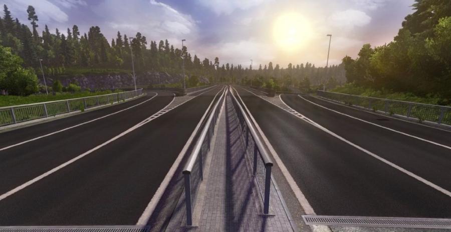 Euro Truck Simulator 2 - Scandinavia (Addon)