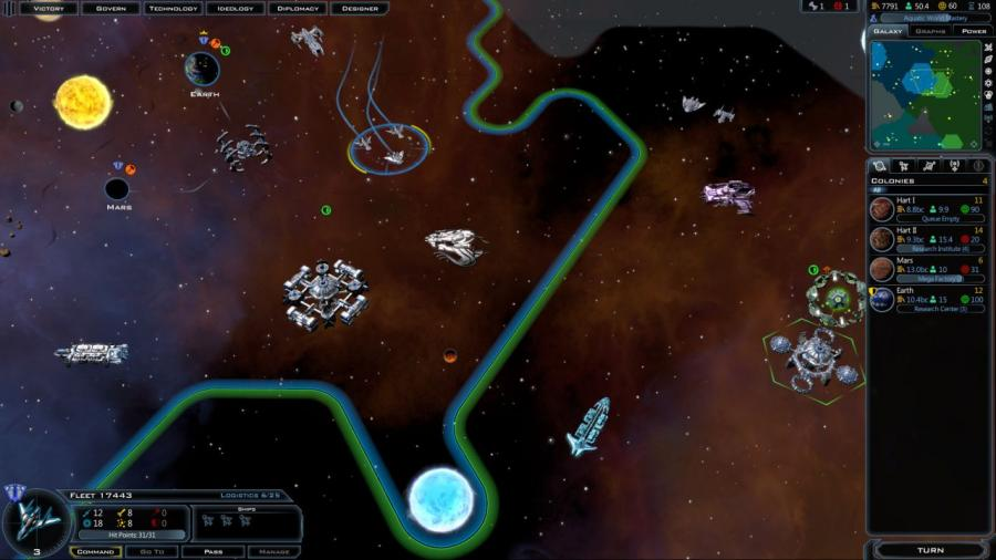 Galactic Civilizations III Screenshot 8