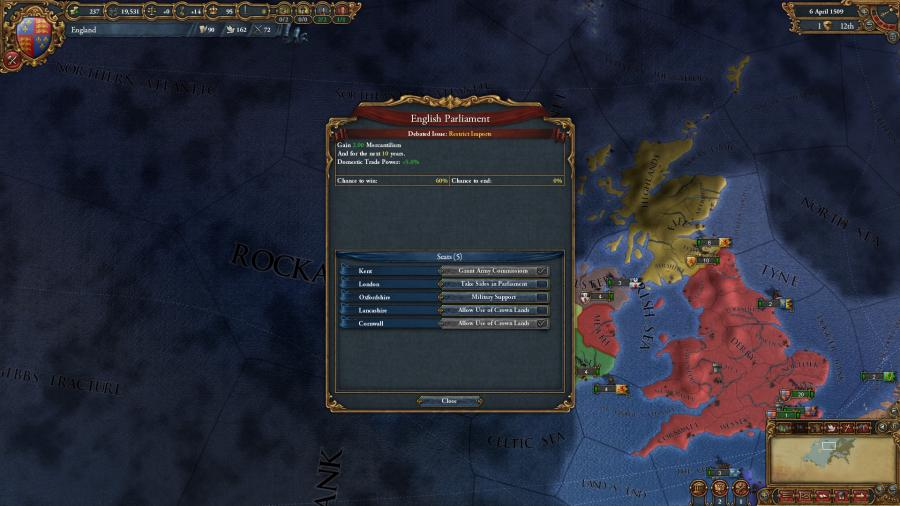 Europa Universalis IV - Common Sense (Addon) Screenshot 5