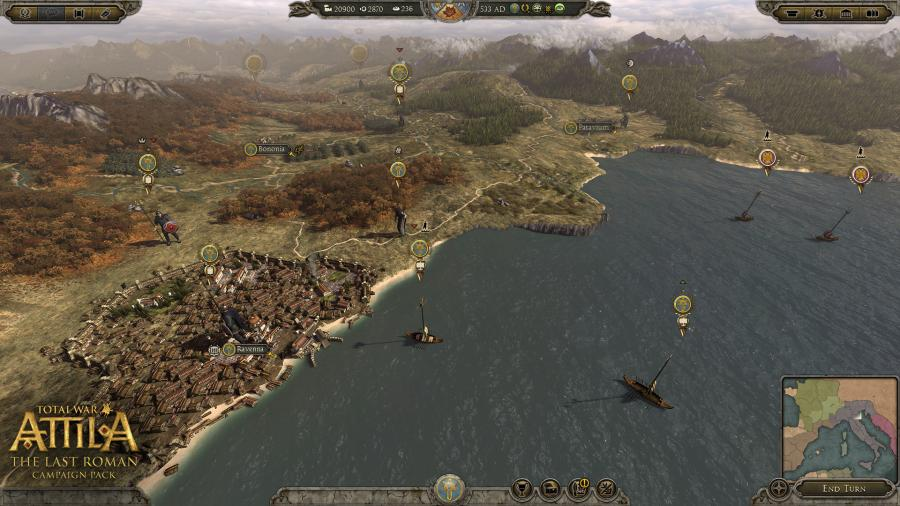 Total War Attila - The Last Roman Campaign Pack (DLC) Screenshot 4