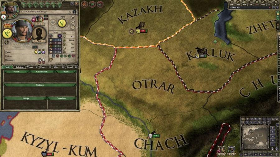 Crusader Kings II - Horse Lords Collection Screenshot 4