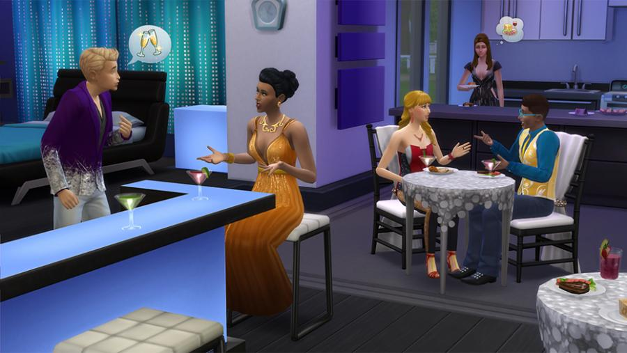 Die Sims 4 - Wellness-Tag + Luxus-Party-Accessoires + Sonnenterrassen Bundle Screenshot 3