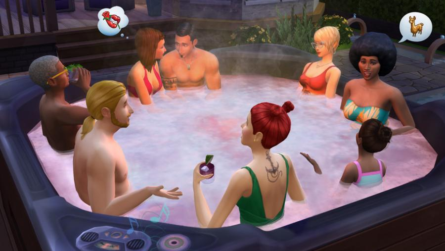 Die Sims 4 - Wellness-Tag + Luxus-Party-Accessoires + Sonnenterrassen Bundle Screenshot 6