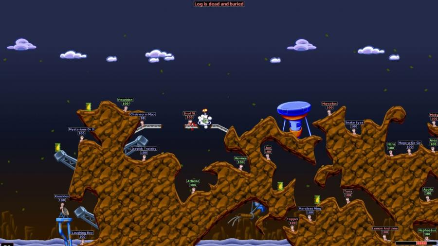 Worms World Party Remastered Screenshot 2