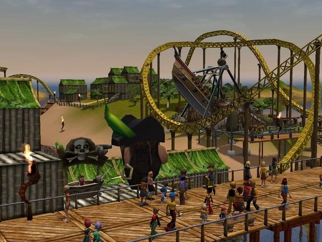RollerCoaster Tycoon Platinum Kaufen RCT Key MMOGA - Minecraft rollercoaster spielen