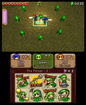 The Legend of Zelda Tri Force Heroes - 3DS Screenshot 3
