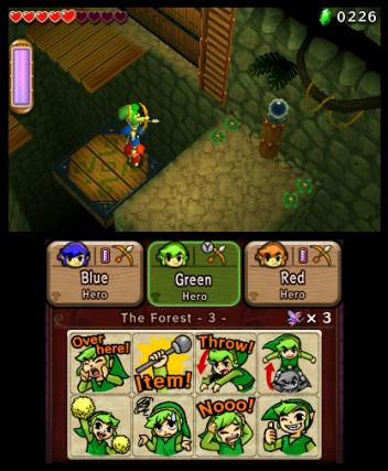 The Legend of Zelda Tri Force Heroes - 3DS Screenshot 5