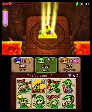 The Legend of Zelda Tri Force Heroes - 3DS Screenshot 2
