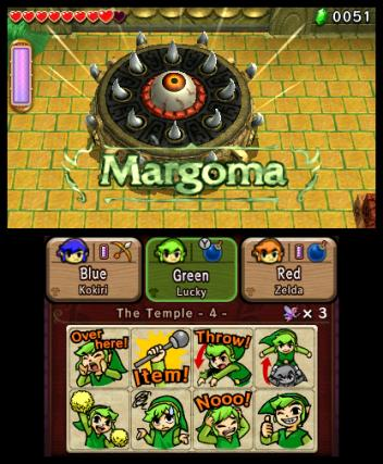 The Legend of Zelda Tri Force Heroes - 3DS Screenshot 4