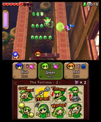 The Legend of Zelda Tri Force Heroes - 3DS Screenshot 6