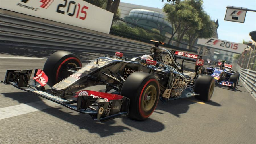 F1 2015 - Xbox One Account Unlock Screenshot 1