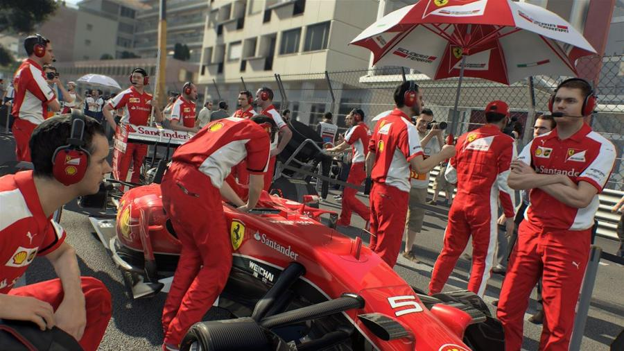 F1 2015 - Xbox One Account Unlock Screenshot 2