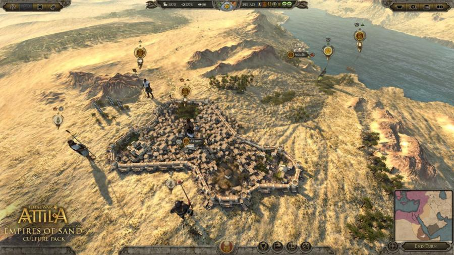 Total War Attila - Empires of Sand Culture Pack (DLC) Screenshot 3