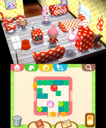 Animal Crossing Happy Home Designer - 3DS Screenshot 4