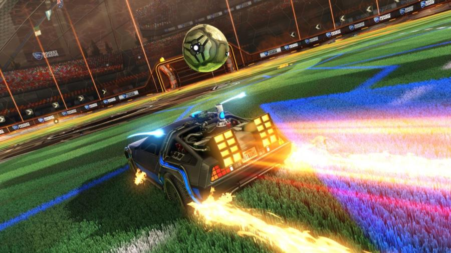 Rocket League - Back to the Future Car Pack DLC Screenshot 2