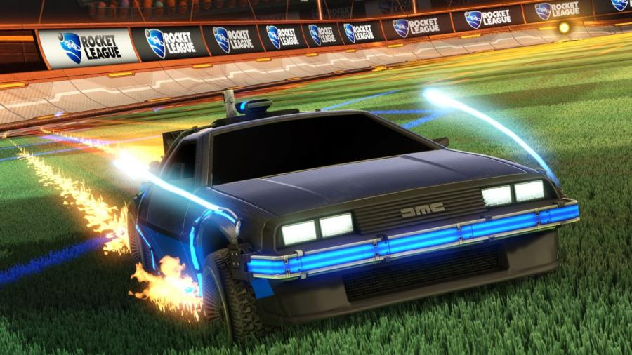 Rocket League - Back to the Future Car Pack DLC Screenshot 1
