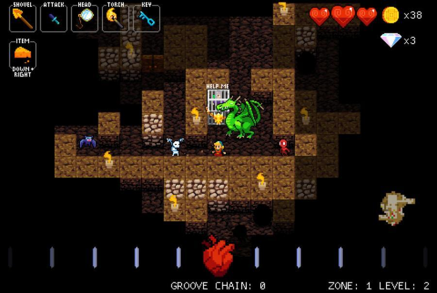 Crypt of the NecroDancer - Steam Geschenk Key Screenshot 2