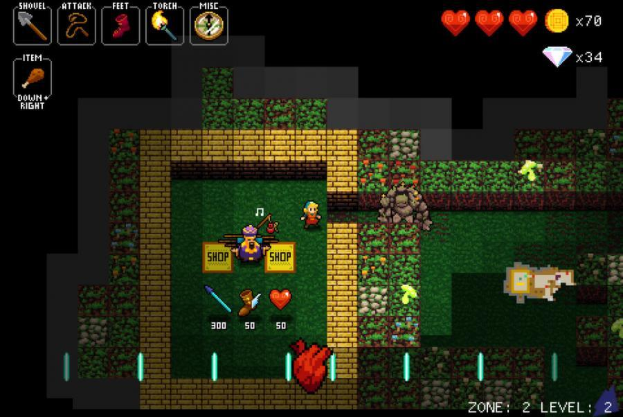 Crypt of the NecroDancer - Steam Geschenk Key Screenshot 3
