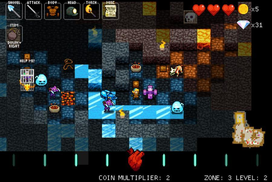 Crypt of the NecroDancer - Steam Geschenk Key Screenshot 4