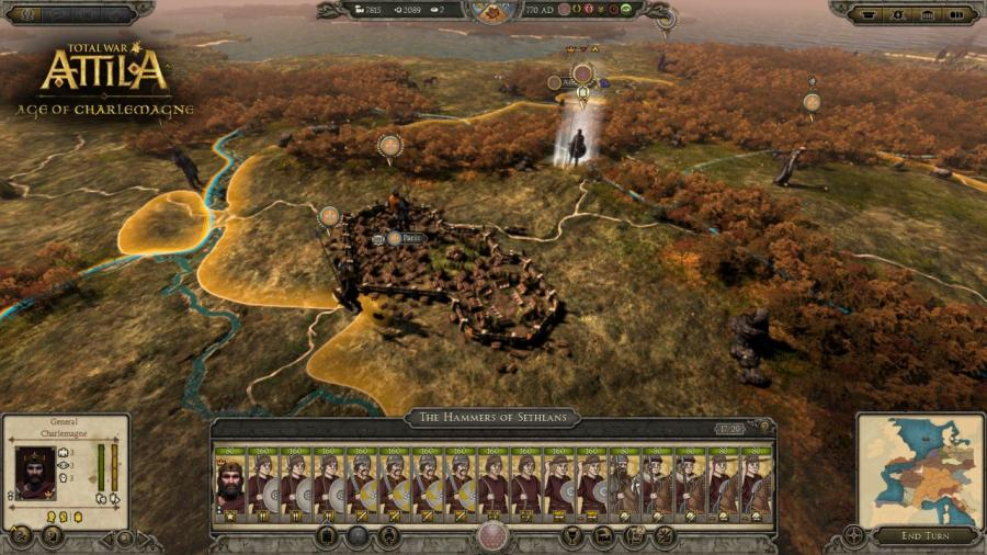 Total War Attila - Age of Charlemagne DLC Screenshot 9