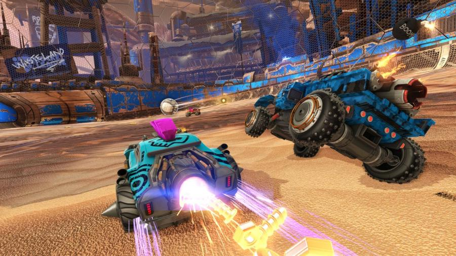 Rocket League - Chaos Run DLC Pack Screenshot 7