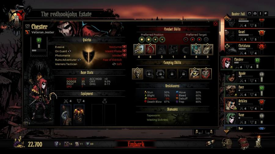 Darkest Dungeon - Steam Geschenk Key Screenshot 8