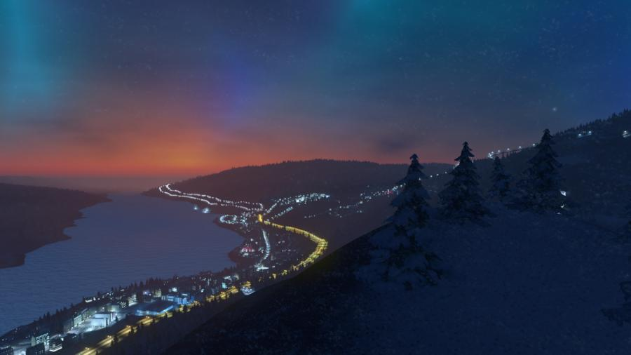 Cities Skylines - Snowfall (Addon) Screenshot 6