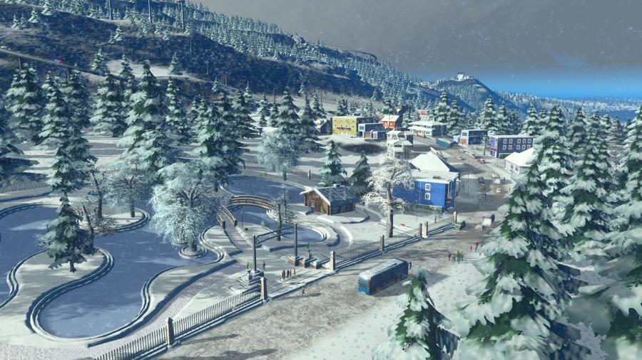 Cities Skylines - Snowfall (Addon) Screenshot 4
