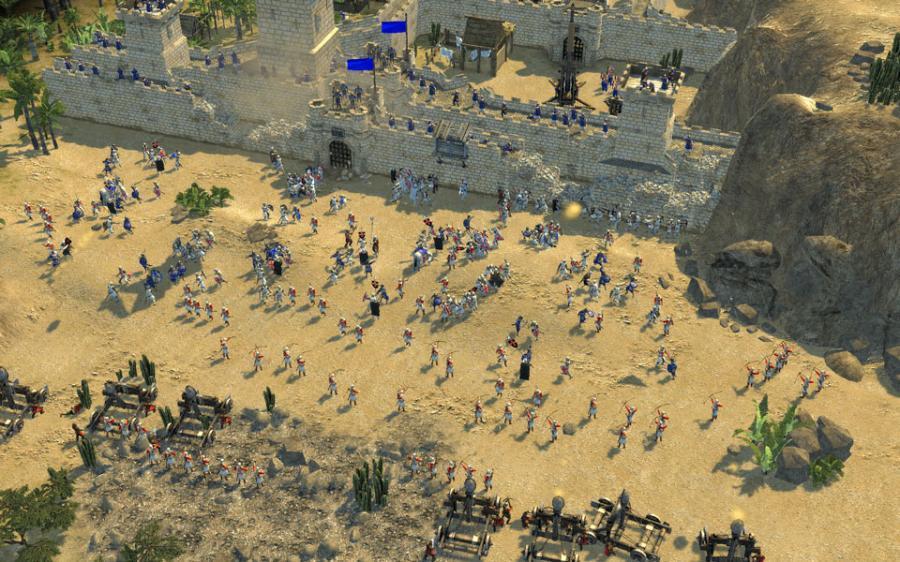 stronghold crusader online kostenlos spielen