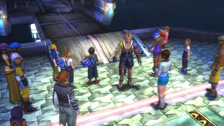 Final Fantasy X/X-2 HD Remaster Screenshot 2