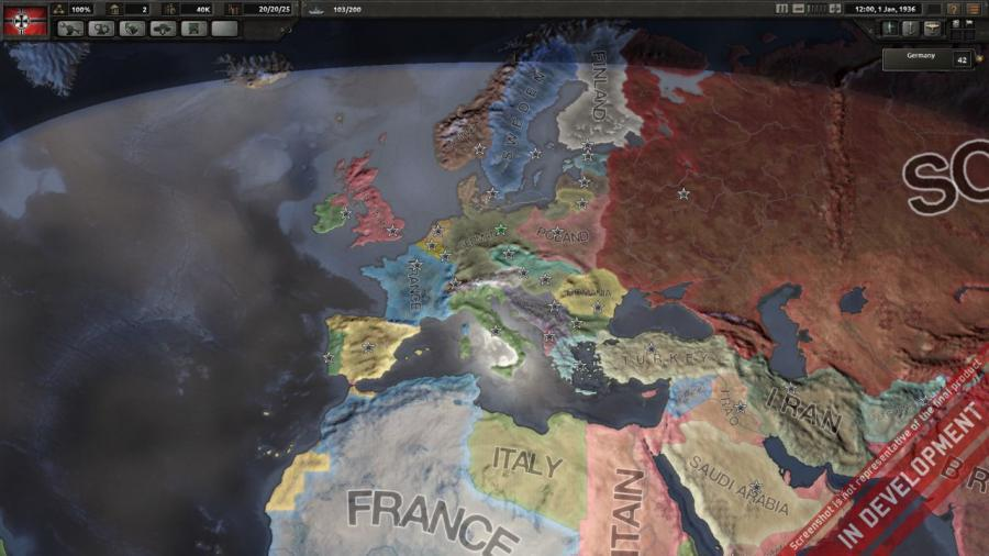 Hearts of Iron IV - Colonel Edition (DE Version) Screenshot 2