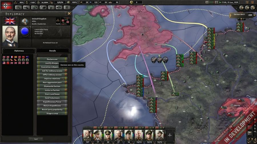 Hearts of Iron IV - Field Marshal Edition (DE Version) Screenshot 2