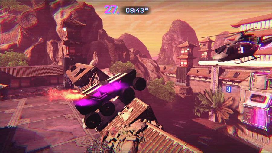 Trials of the Blood Dragon Screenshot 3