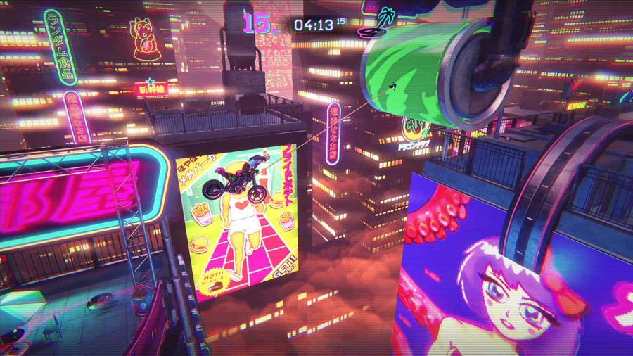 Trials of the Blood Dragon Screenshot 1