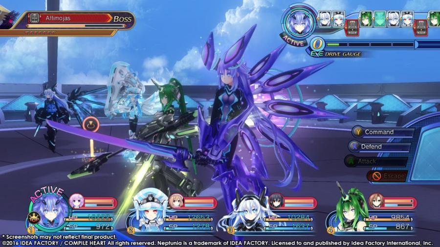 Megadimension Neptunia VII - Steam Geschenk Key Screenshot 3