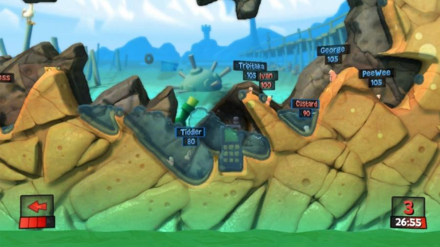 Worms Revolution - Steam Geschenk Key Screenshot 2