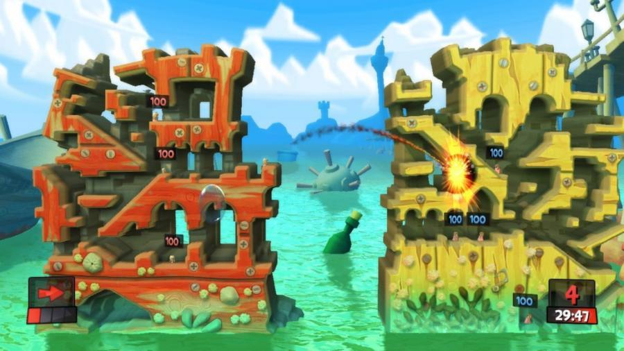 Worms Revolution - Steam Geschenk Key Screenshot 4