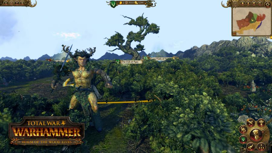 Total War Warhammer - Realm of the Wood Elves (Steam Geschenk Key) Screenshot 4