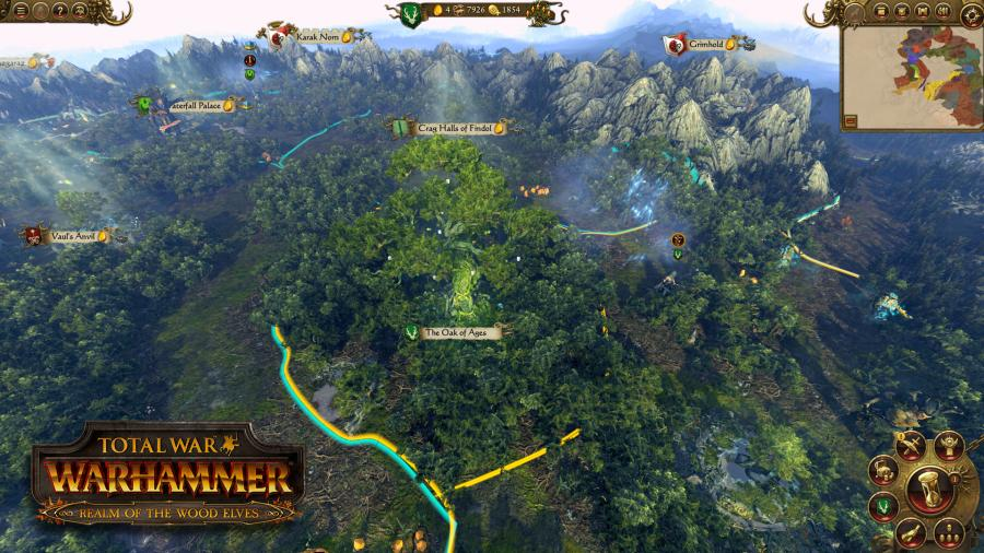 Total War Warhammer - Realm of the Wood Elves (Steam Geschenk Key) Screenshot 6