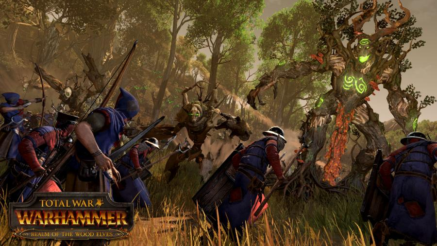 Total War Warhammer - Realm of the Wood Elves (Steam Geschenk Key) Screenshot 2