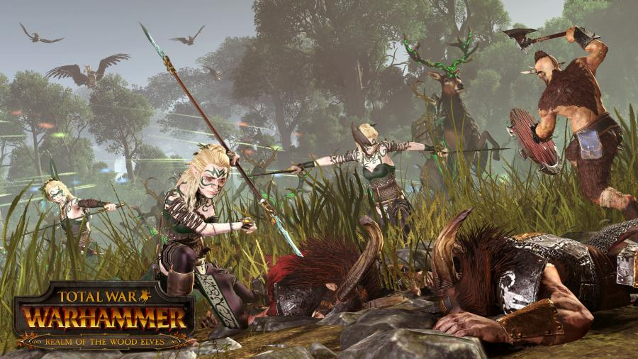 Total War Warhammer - Realm of the Wood Elves (Steam Geschenk Key) Screenshot 1