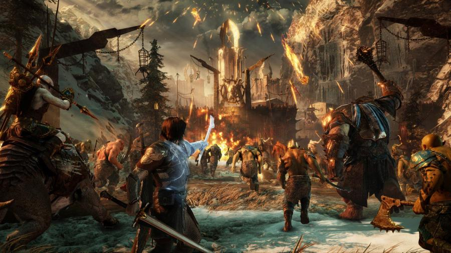 Mittelerde - Schatten des Krieges (Middle-Earth Shadow of War) Screenshot 1