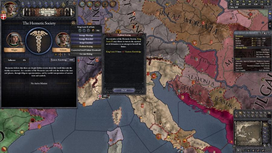 Crusader Kings II - Monks and Mystics (DLC) Screenshot 4