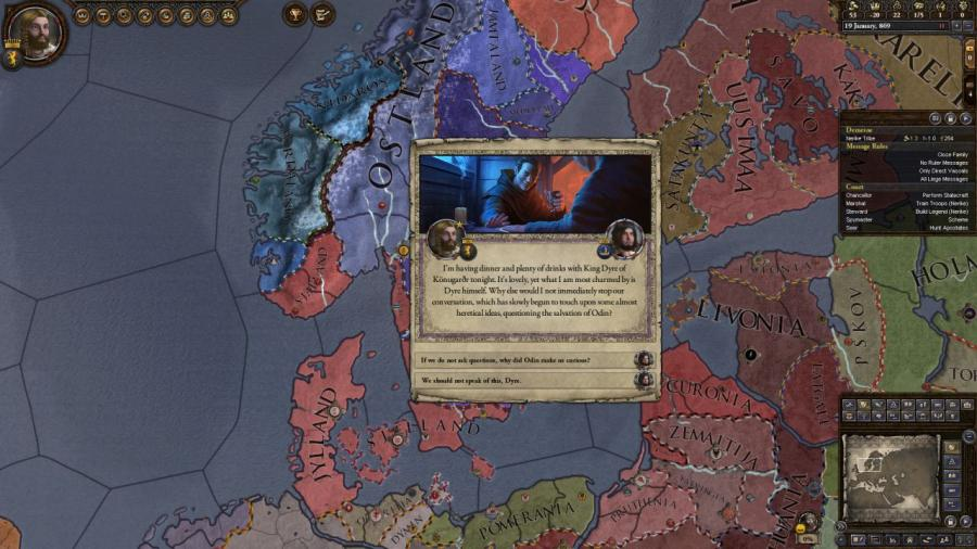 Crusader Kings II - Monks and Mystics (DLC) Screenshot 6