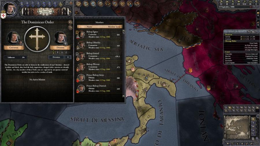 Crusader Kings II - Monks and Mystics (DLC) Screenshot 1