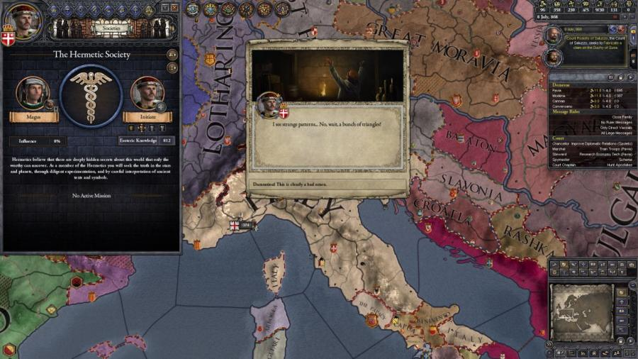 Crusader Kings II - Monks and Mystics (DLC) Screenshot 5