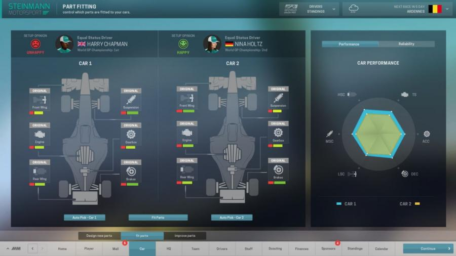 Motorsport Manager Screenshot 6
